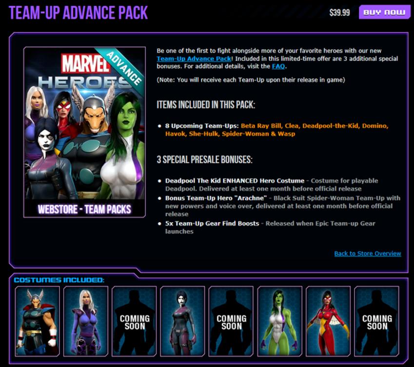 First Advance Pack